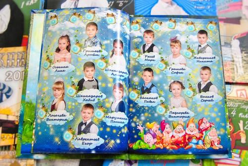 заказать фотоальбом на выпускной в детском саду